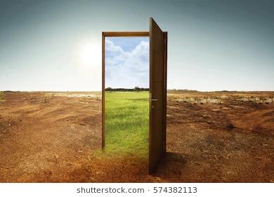 open-wooden-door-new-world-260nw-574382113